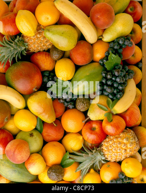 selection of fruit - Stock Photo