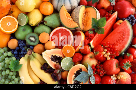 Composition of fruit - Stock Photo