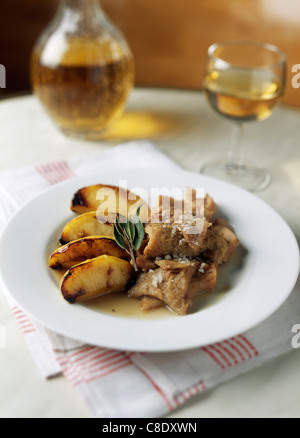Tripes a la mode de caen traditional dish of the cuisine of stock photo 139709516 alamy - Cuisine a la mode ...