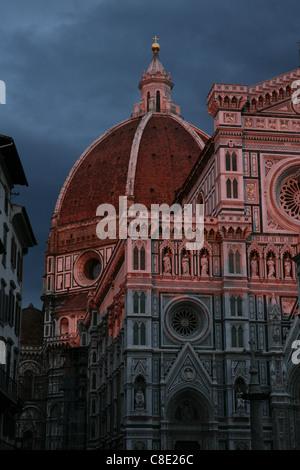 Basilica of Santa Maria del Fiore in Florence, Italy. - Stockfoto