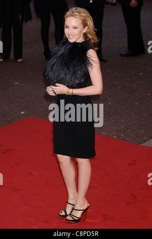 Kylie Minogue at the UK Premiere of 'The Kid', Leicester Square, London, 15th September 2010. - Stock Photo