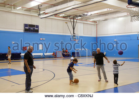 Miami beach florida scott rakow youth center black boy for Free inside basketball courts
