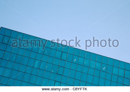 corporate building with office windows - Stock Photo