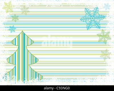 christmas tree backgrounds. holiday vector - Stockfoto