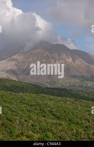 Montserrat Volcanic Eruptions / Soufriere Hills Volcano
