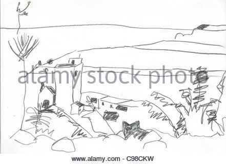 landscape on La Palma - Stock Photo