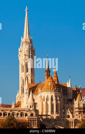 Budapest, Matthias Church - Stock Photo