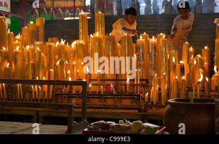Vegetarian Festival at Chinese Temple , Bangkok s ...