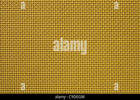 close up detail of yellow textured play mat - Stock Photo