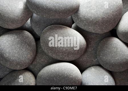 Pebbles (limestone). - Stock Photo