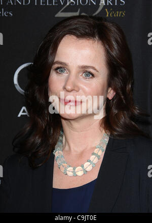 EMILY WATSON BAFTA LOS ANGELES 18TH ANNUAL AWARDS SEASON TEA PARTY BEVERLY HILLS LOS ANGELES CALIFORNIA USA 14 January - Stock Photo