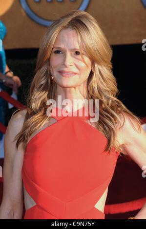 Jan. 30, 2012 - Los Angeles, California, U.S. - Kyra Sedgwick .18th Annual Screen Actors Guild Awards - arrivals - Stock Photo