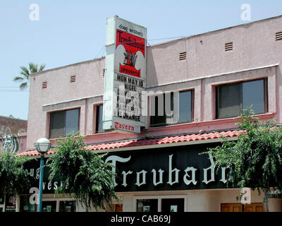 May 08, 2004; Los Angeles, CA, USA; Born as a coffeehouse in the fifties and boomed with folk music in the early - Stock Photo