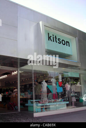 May 08, 2004; Los Angeles, CA, USA; Hollywood stars flock to Kitson, where the shelves burst with the newest accessories. - Stock Photo