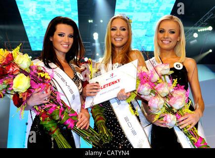Newly elected Miss Universe SR Lubica Stepanova prforms at ... Lubica Stepanova