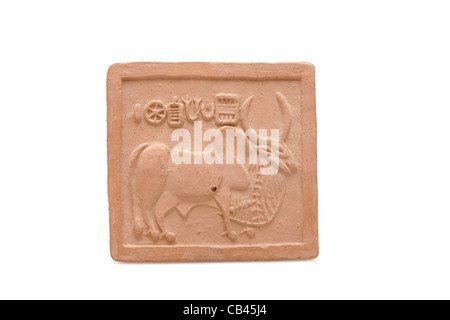 Ancient Pictograph from the Indus Valley Civilization - Stock Photo