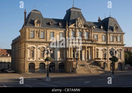 Elk196-1609 France, Burgundy, Autun, Town Hall (Hotel de Ville) - Stock Photo