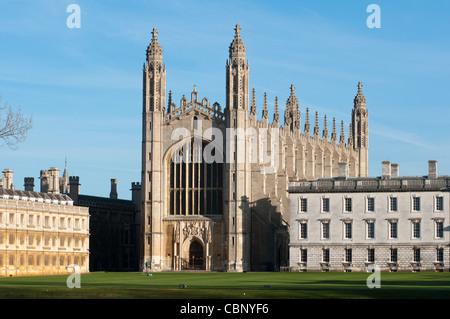 Kings College Chapel, Kings College, Cambridge, England. - Stock Photo