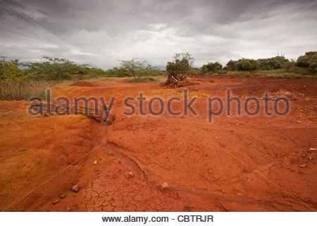 Sarigua national park (desert) in Herrera province, Republic of Panama. - Stock Photo