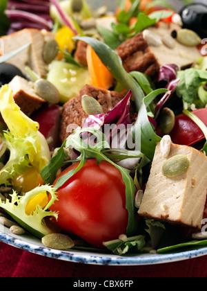 Smoked tofu salad - Stockfoto