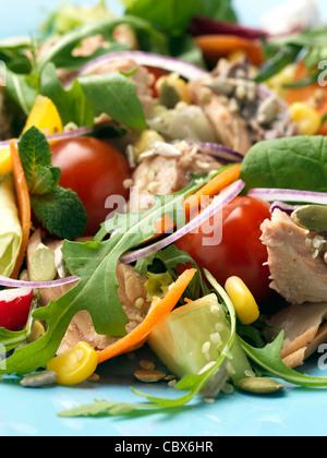 salmon salad - Stockfoto