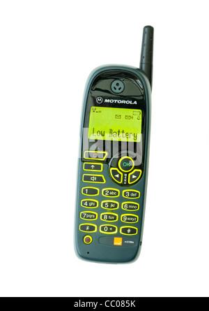old Motorola mobile phone from around year 2000 Stock Photo, Royalty Free Image: 41803060 - Alamy
