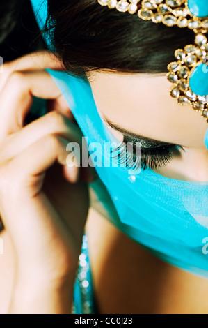 Beautiful Indian woman - Stock Photo