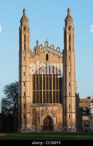 Kings College Chapel, Cambridge, England. - Stock Photo