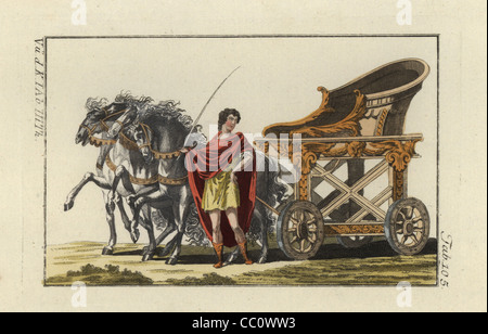 Four Horse Chariot Race Stock Photo Royalty Free Image