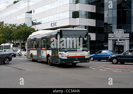 green public transport a gas powered arriva bus seen in darlington stock photo royalty free. Black Bedroom Furniture Sets. Home Design Ideas