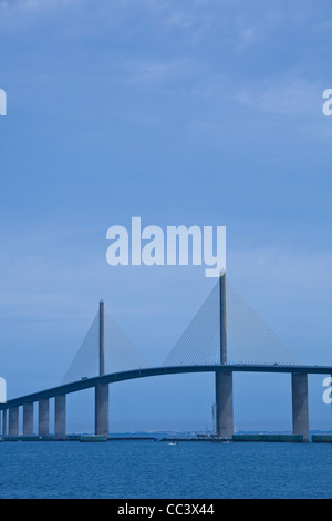 St saint petersburg florida tampa bay marina stock photo for Skyway fishing pier tides