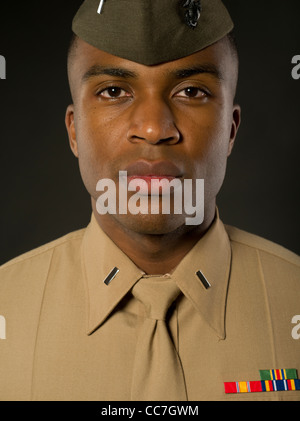 United States Marine Corps Officer In Blue Dress Quot A