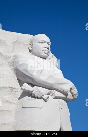 Martin Luther King Junior Memorial at the National Mall and memorial parks in Washington DC - Stockfoto