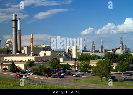Great Plains Synfuels coal gasification plant near Beulah, North Dakota, USA. - Stock Photo
