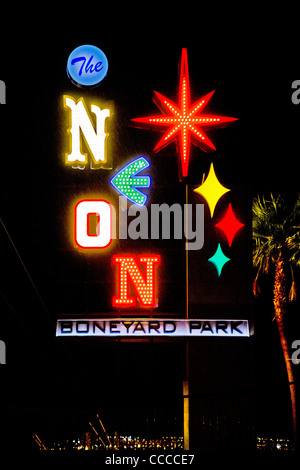 Neon sign at night for classic American diner Moody s #2: made from famous illuminated signs the neon boneyard park on las vegas cccce7