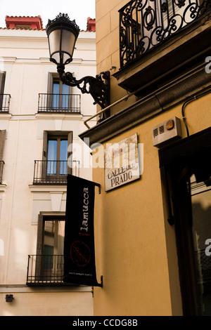 Spain madrid calle del prado 4 el cenador del prado for Calle prado 8 madrid