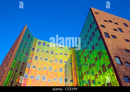 Modern office building in Deventer, The Netherlands - Stock Photo