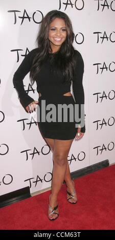 Nov 07, 2010 - Las Vegas, Nevada, USA - Singer CHRISTINA MILIAN  at the TAO Restaurants 5th Anniversay inside the - Stockfoto