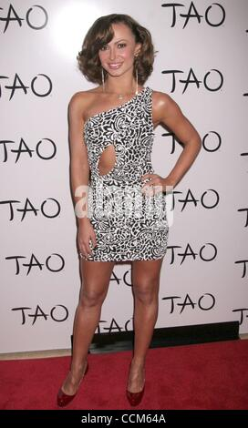 Nov 07, 2010 - Las Vegas, Nevada, USA - Actress KARINA SMIRNOFF at the TAO Restaurants 5th Anniversay inside the - Stockfoto