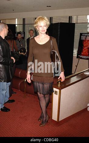 SD05142003        .2003 TONY AWARD NOMINATIONS LUNCHEON AT THE MARRIOTT HOTEL, NEW YORK New York.    /   K30657AR..MELANIE - Stock Photo