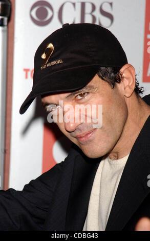 SD05142003        .2003 TONY AWARD NOMINATIONS LUNCHEON AT THE MARRIOTT HOTEL, NEW YORK New York.    /   K30657AR..ANTONIO - Stock Photo