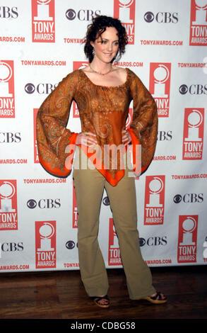 SD05142003        .2003 TONY AWARD NOMINATIONS LUNCHEON AT THE MARRIOTT HOTEL, NEW YORK New York.    /   K30657AR..MELISSA - Stock Photo