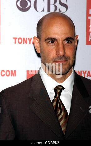 SD05142003        .2003 TONY AWARD NOMINATIONS LUNCHEON AT THE MARRIOTT HOTEL, NEW YORK New York.    /   K30657AR..STANLEY - Stock Photo