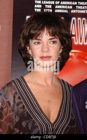SD05142003        .2003 TONY AWARD NOMINATIONS LUNCHEON AT THE MARRIOTT HOTEL, NEW YORK New York.    /   K30657AR.VICTORIA - Stock Photo