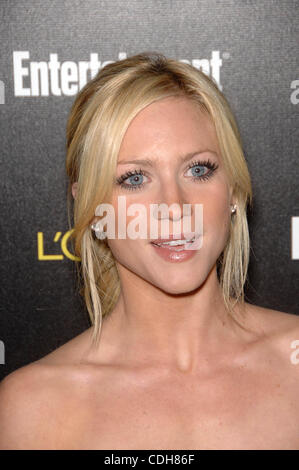 Jan. 30, 2011 - Hollywood, California, U.S. - Brittany Snow.Entertainment Weekly 2011 Pre-SAG Party - Arrivals.January - Stock Photo