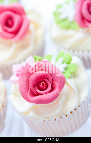 Wedding cupcakes - Stockfoto