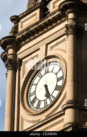 Town hall architectural detail, Swanston Street. melbourne victoria australia - Stock Photo