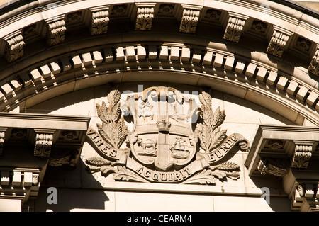 Town hall architectural detail, Swanston Street  melbourne victoria australia - Stock Photo