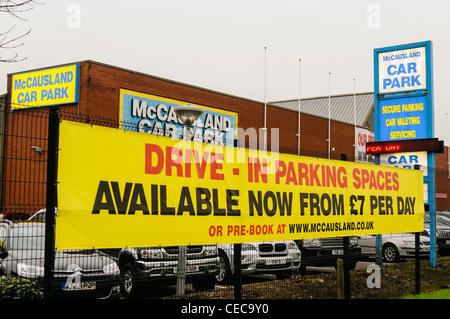 Cosmo Car Park Belfast International Airport
