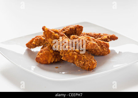 how to make fried chicken strips